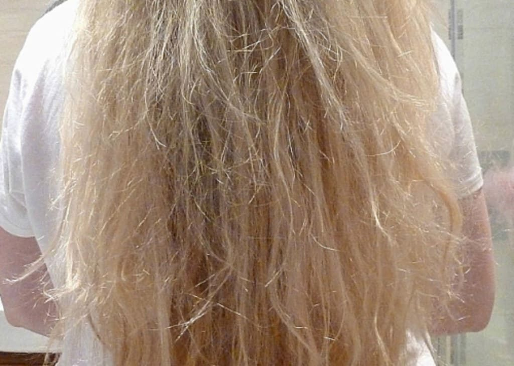 How to fix bleached hair 1