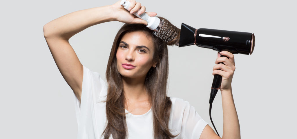 The healthiest way to dry hair 2